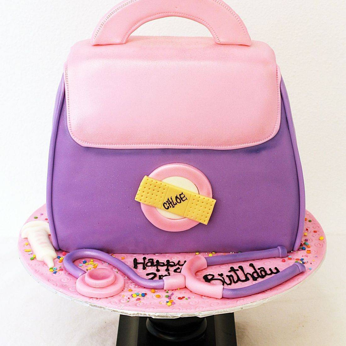 Doc Mc Stuffin Bag Cake Dimensional Cake Milwaukee