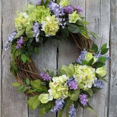 wedding flower wreath