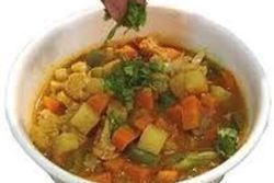 Try Arista's Vegetable Korma