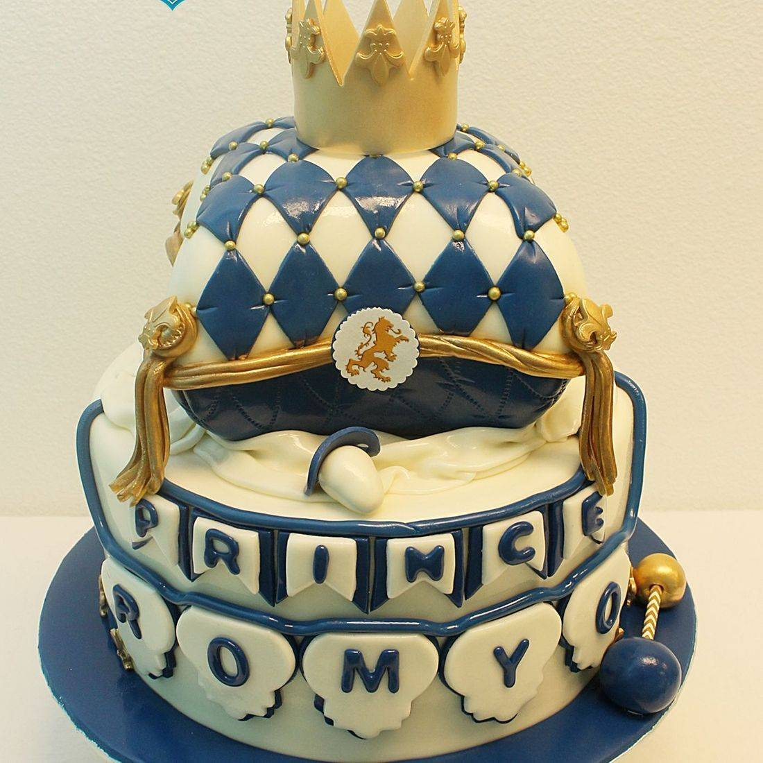 Custom Royal Prince Pillow Cake Milwaukee