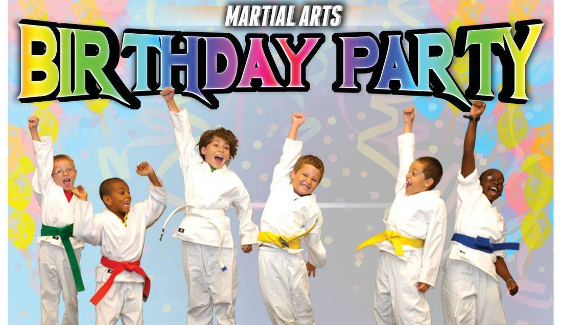 Kids Birthday Party Karate Party