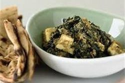 Try Arista's Saag Paneer