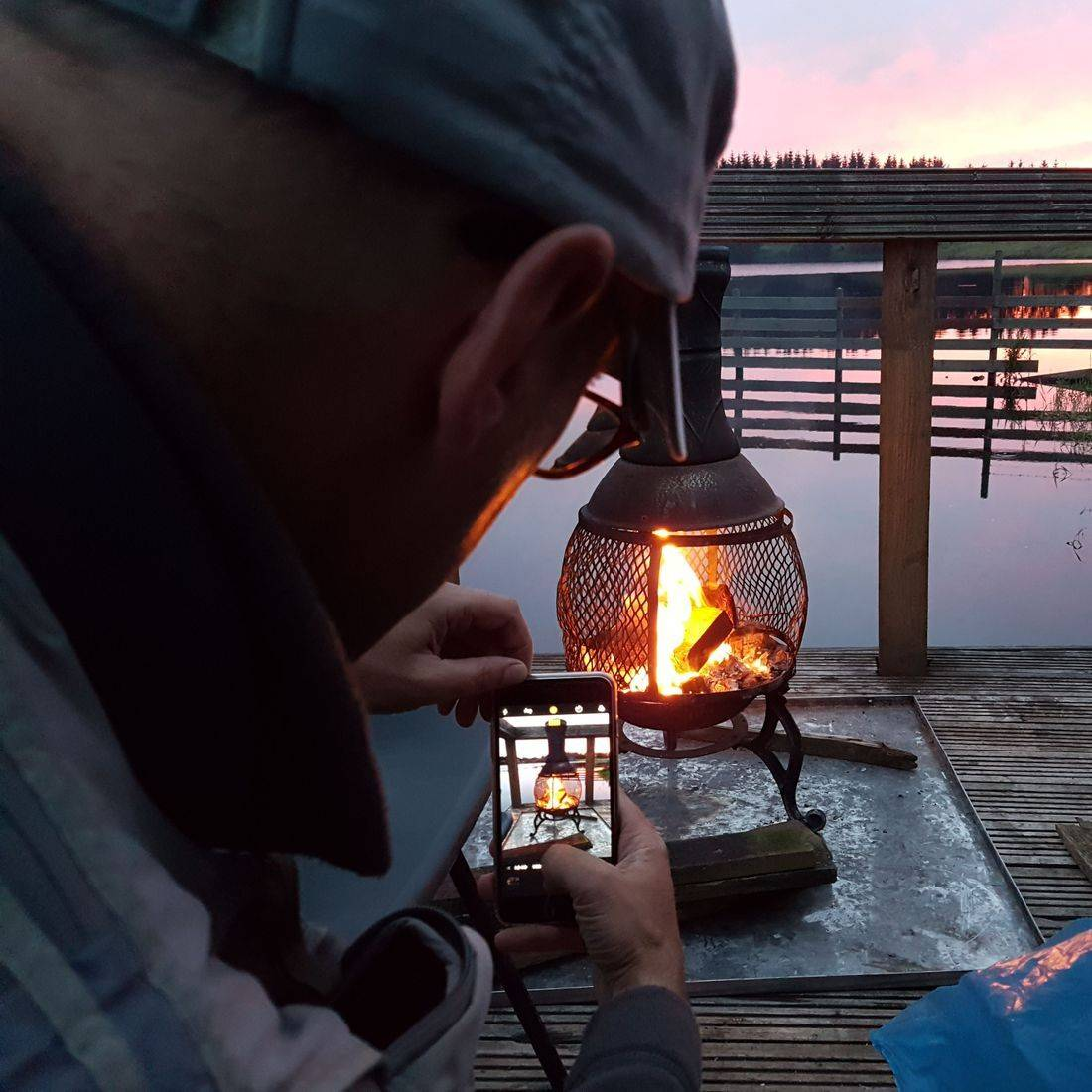 fire fishing angling chimera walton