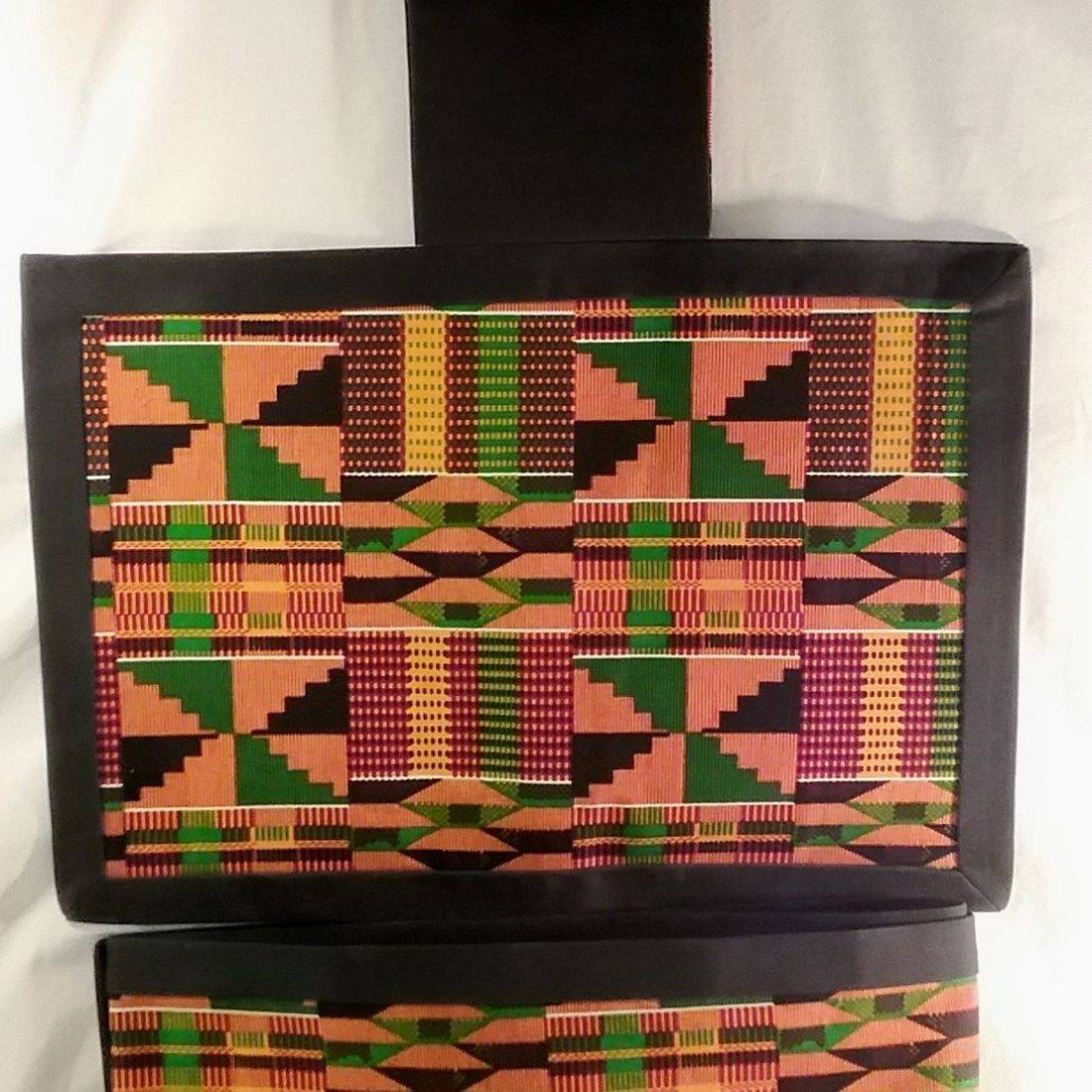Kente Cloth Runner Set