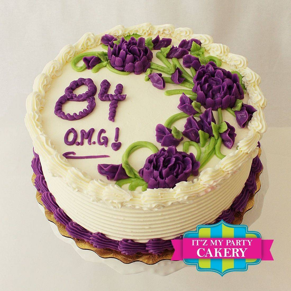Buttercream cake, buttercream design
