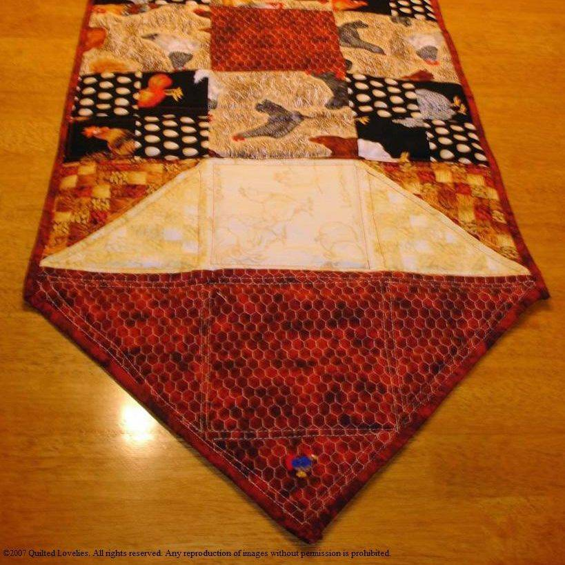 Custom Made table runner