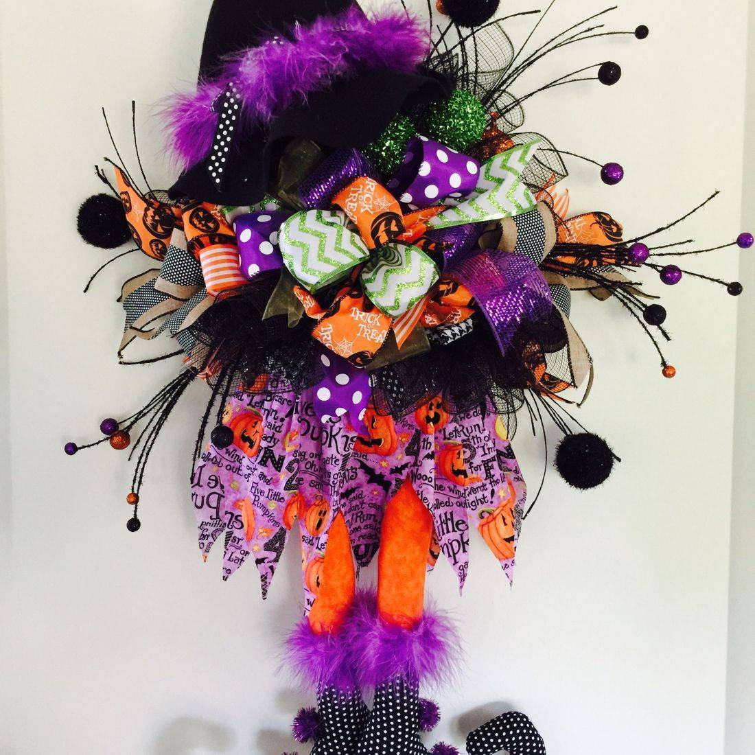 Halloween Witch Door Hanger