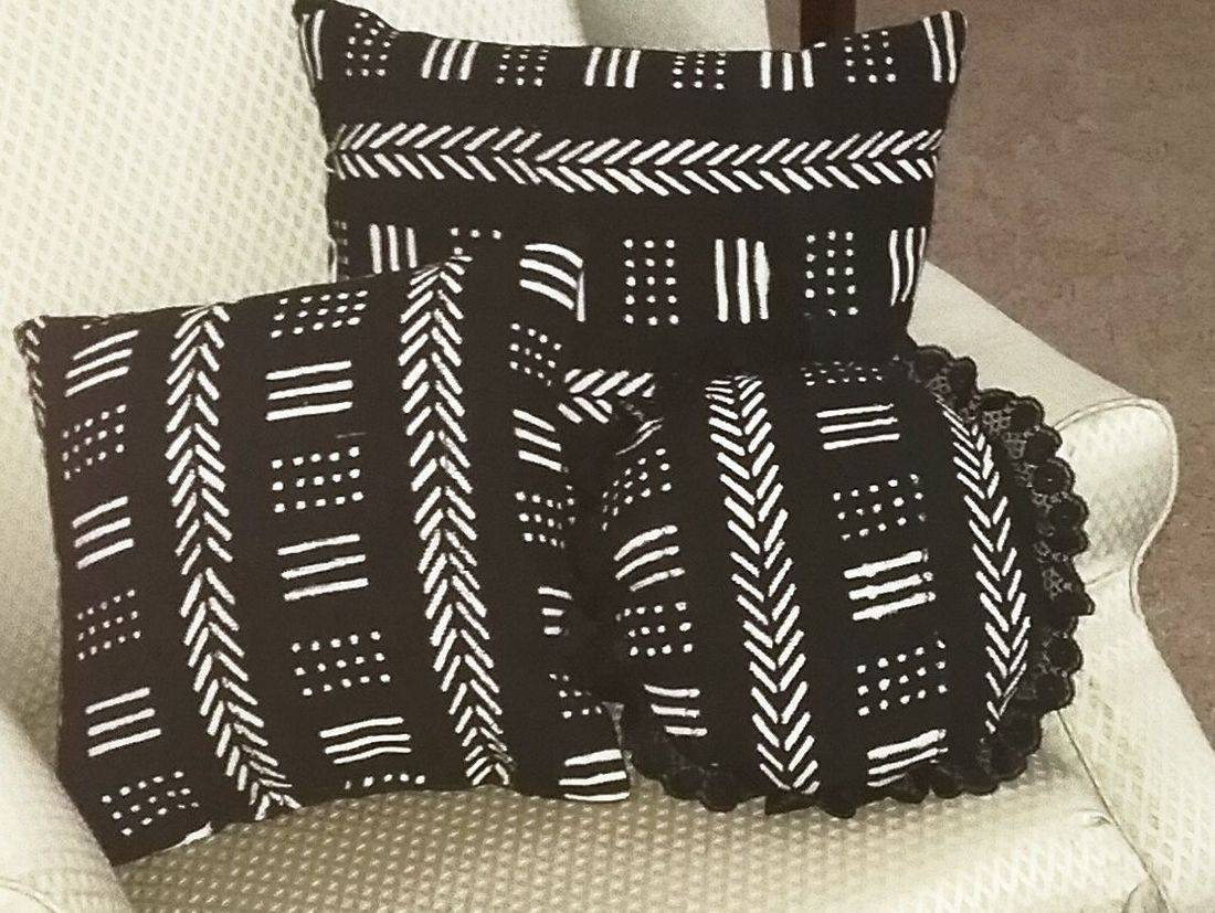 Mudcloth Pillow Set
