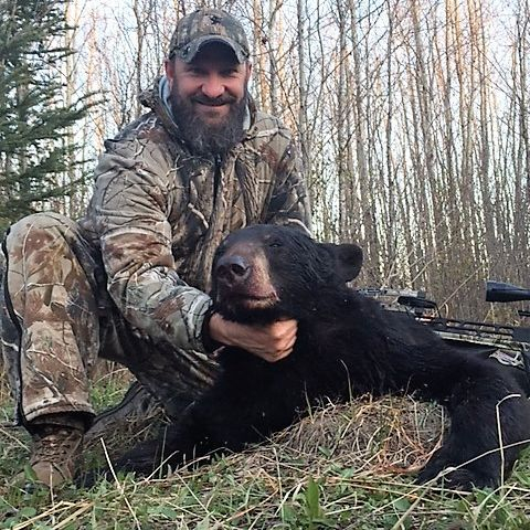 Manitoba black bear, hunting lodge, hunting, fishing