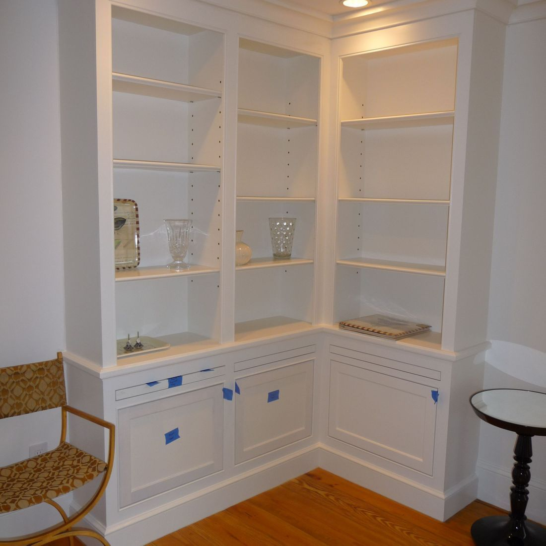 home library cabinetry