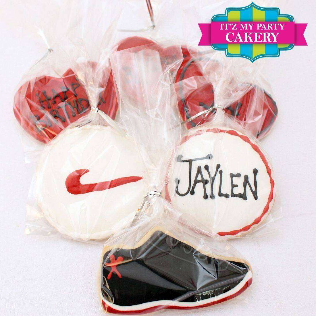 Nike Shoe logo  cookies Milwaukee
