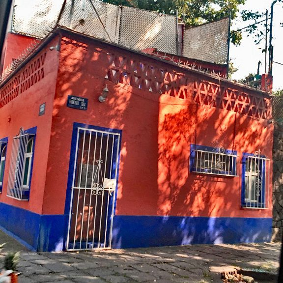 Home of Diego Rivera and Frida Khalo