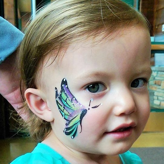 Easter Church Event Face Painter