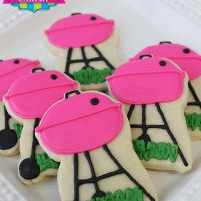 Pink BBQ Grill cookies milwaukee