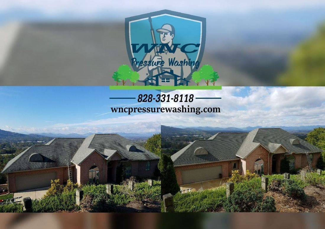 WNC Roof Cleaning Asheville, WNC Pressure Washing, pressure washing, pressure washing waynesville, pressure washing asheville, roof cleaning, soft washing
