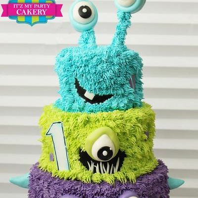 Custom Mosters Cake Milwaukee