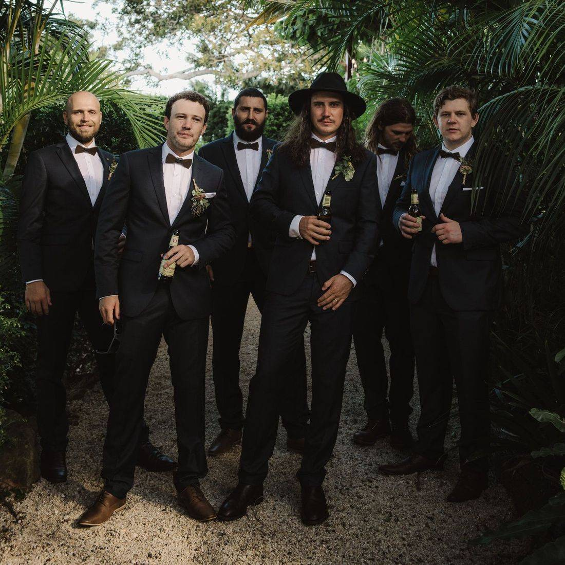 Nick and his groomsment