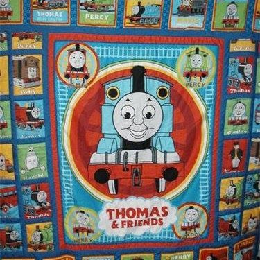 Thomas the Tank Engine Quilt