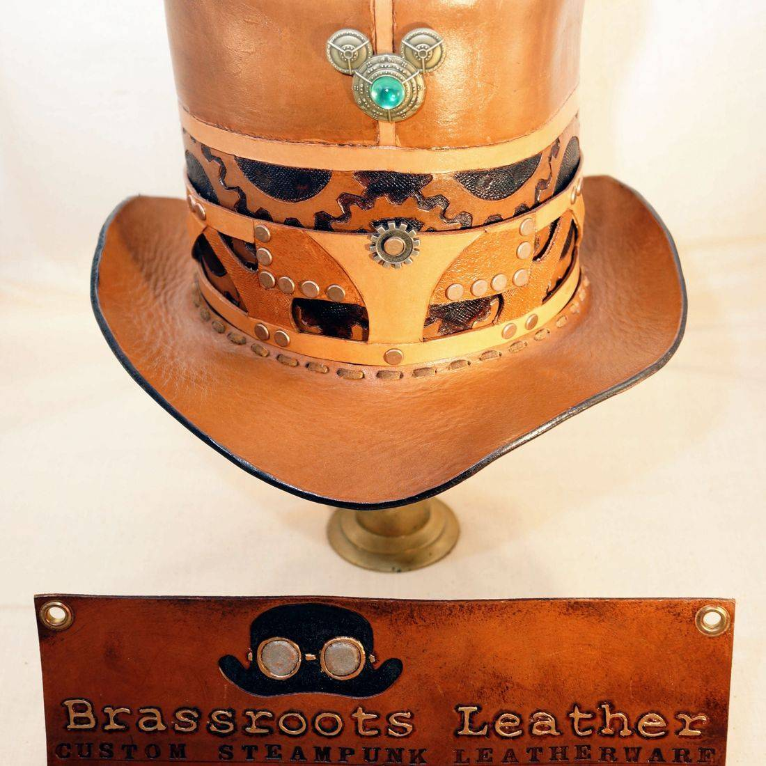 Brassroots Leather first Top Hat