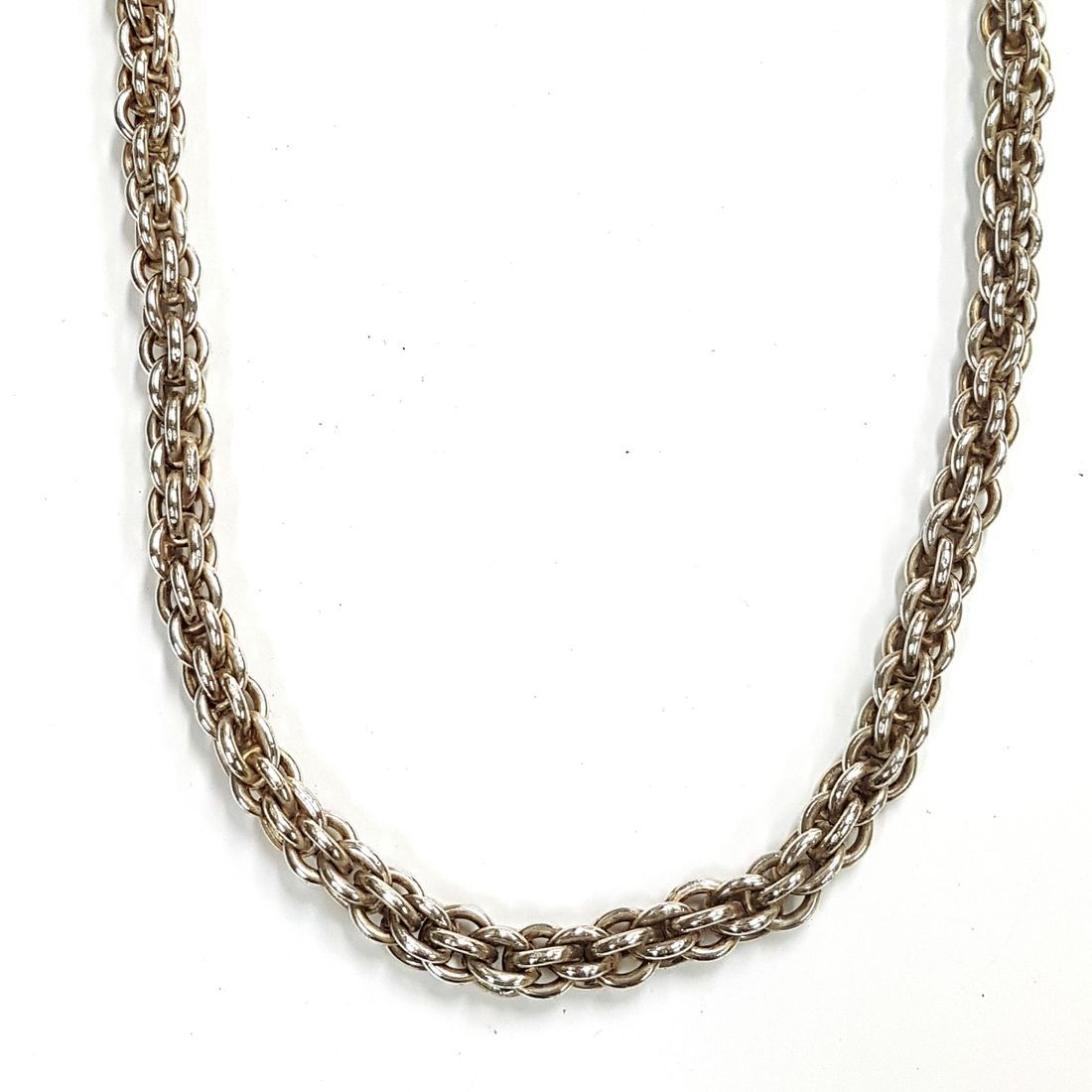 Solid Silver Rope Chain  available at Kazbah online and our Leicester City Centre Shop