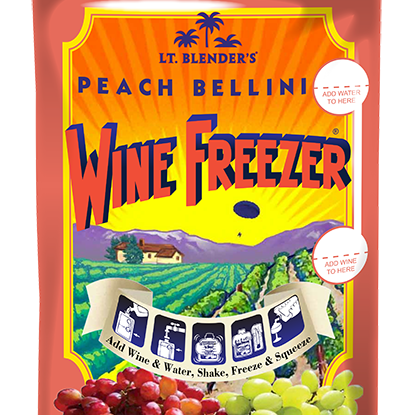 Wine Freezer Peach Bellini