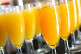 try a mimosa at champagne brunch