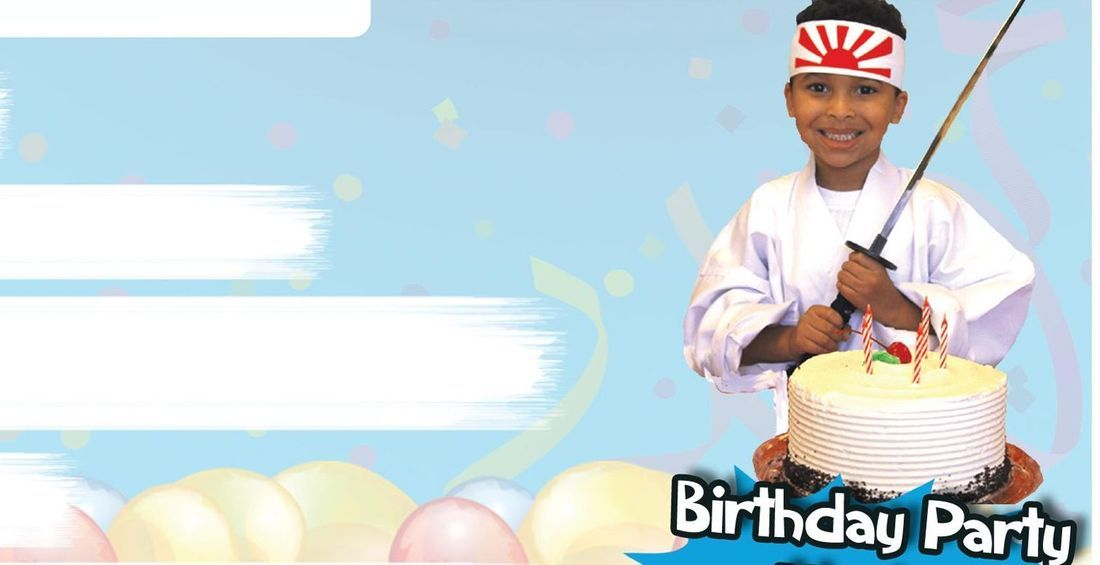 Karate Birthday Party Party Ideas