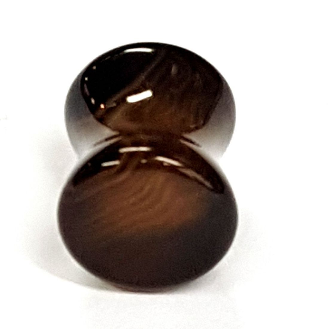 Tiger eye plug  available at Kazbah online or our Leicester City Centre store