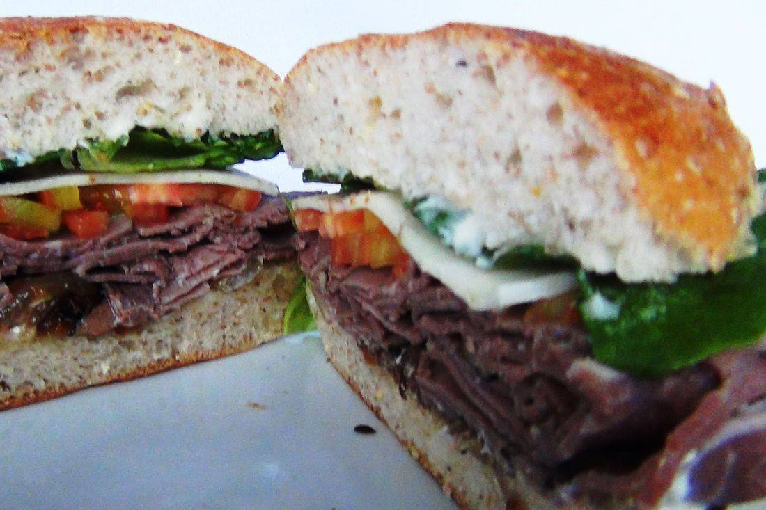 Roast beef sandwich catering