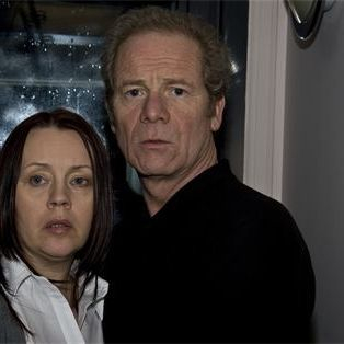 Peter Mullan and Vicki Masson in The Neighbours