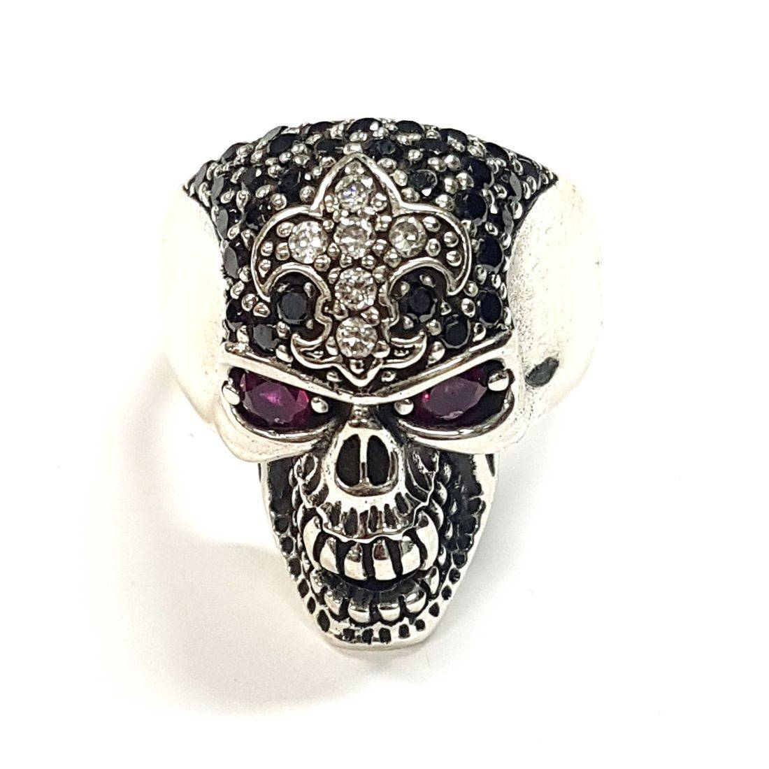 Crystal Skull Ring  available at Kazbah online and our Leicester City Centre shop