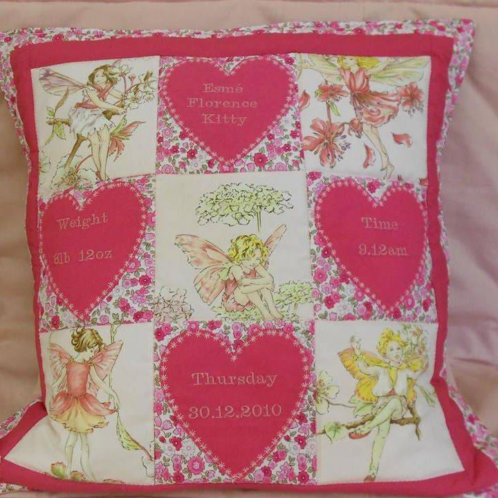 Personalised Fairy Cushion