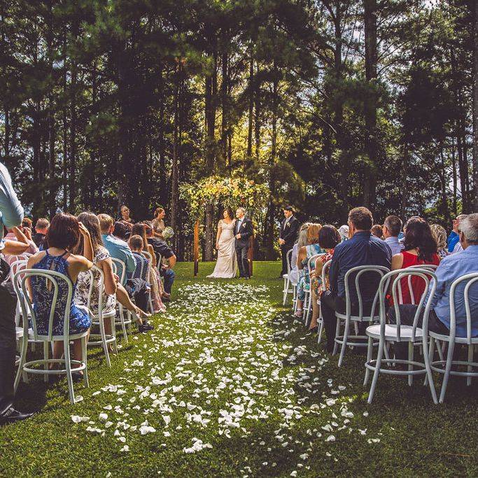 Verandahs Coorabell Wedding