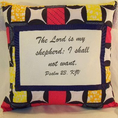 Psalm 23 Pillow