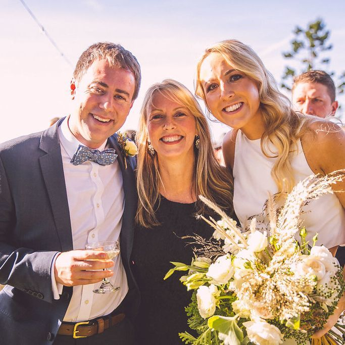 Claire and Aaron and Michelle Shannon