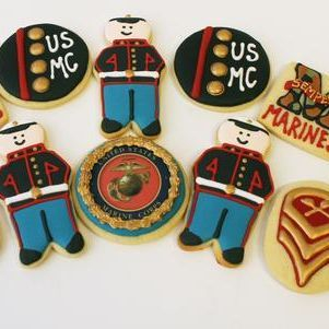Marine Set Cookies Milwaukee