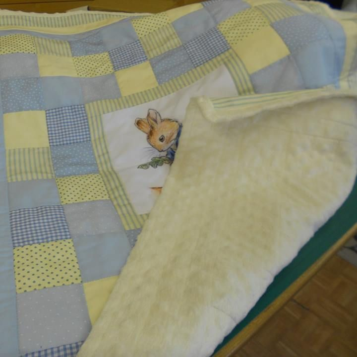 Peter Rabbit Blanket/Beatrix Potter Blanket