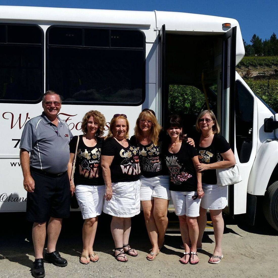 Wine tours with air conditioned, comfortable vehicles.