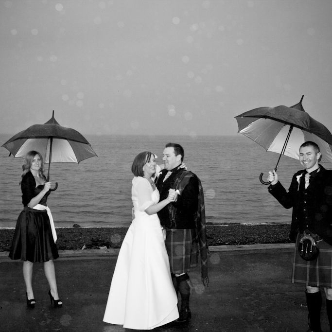 It can rain on your wedding day