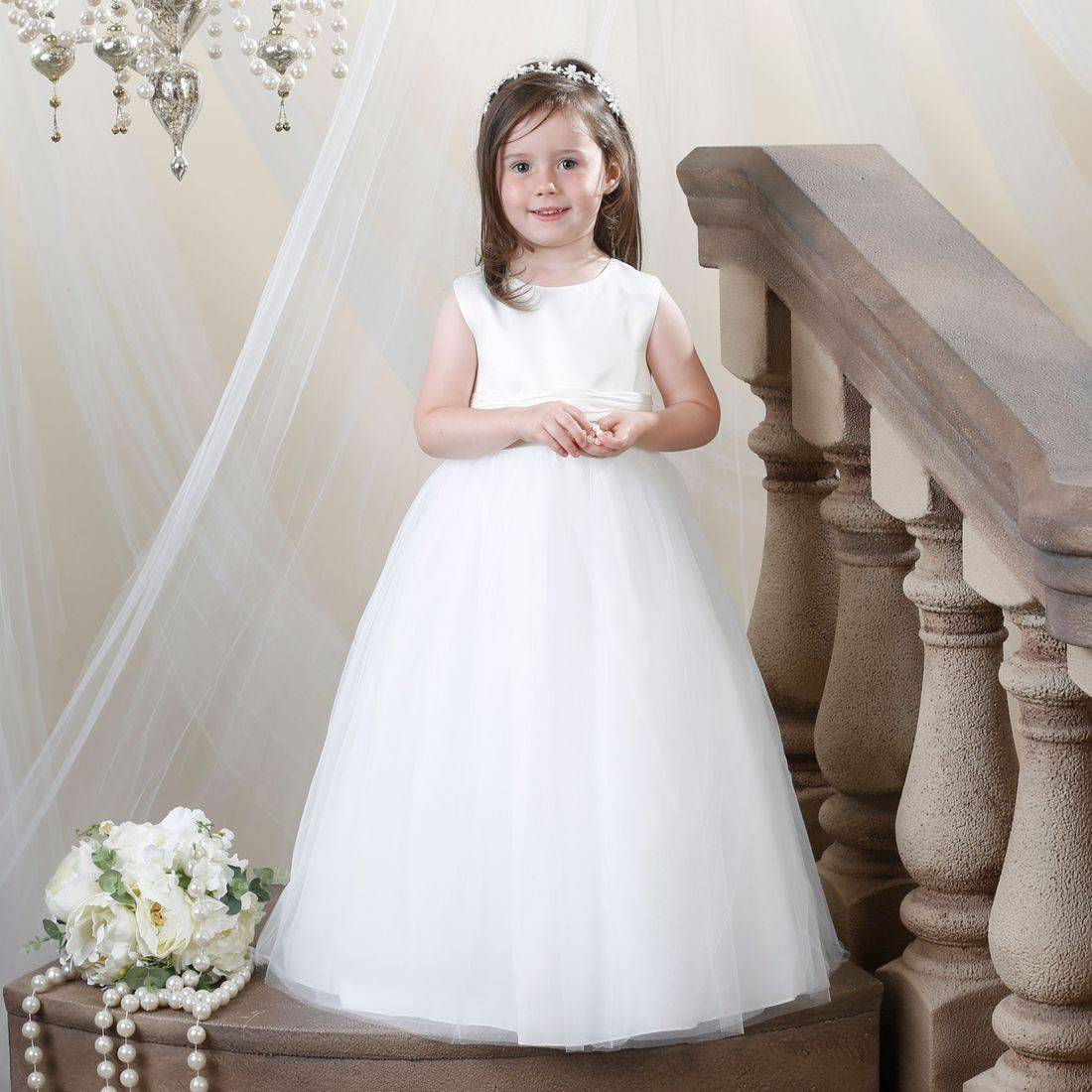From stock Flower Girl dresses