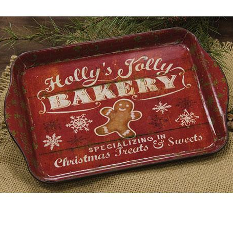Mini faux bakery advertisement tray