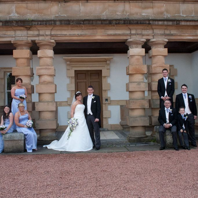 The Wedding Party at Finlaystone