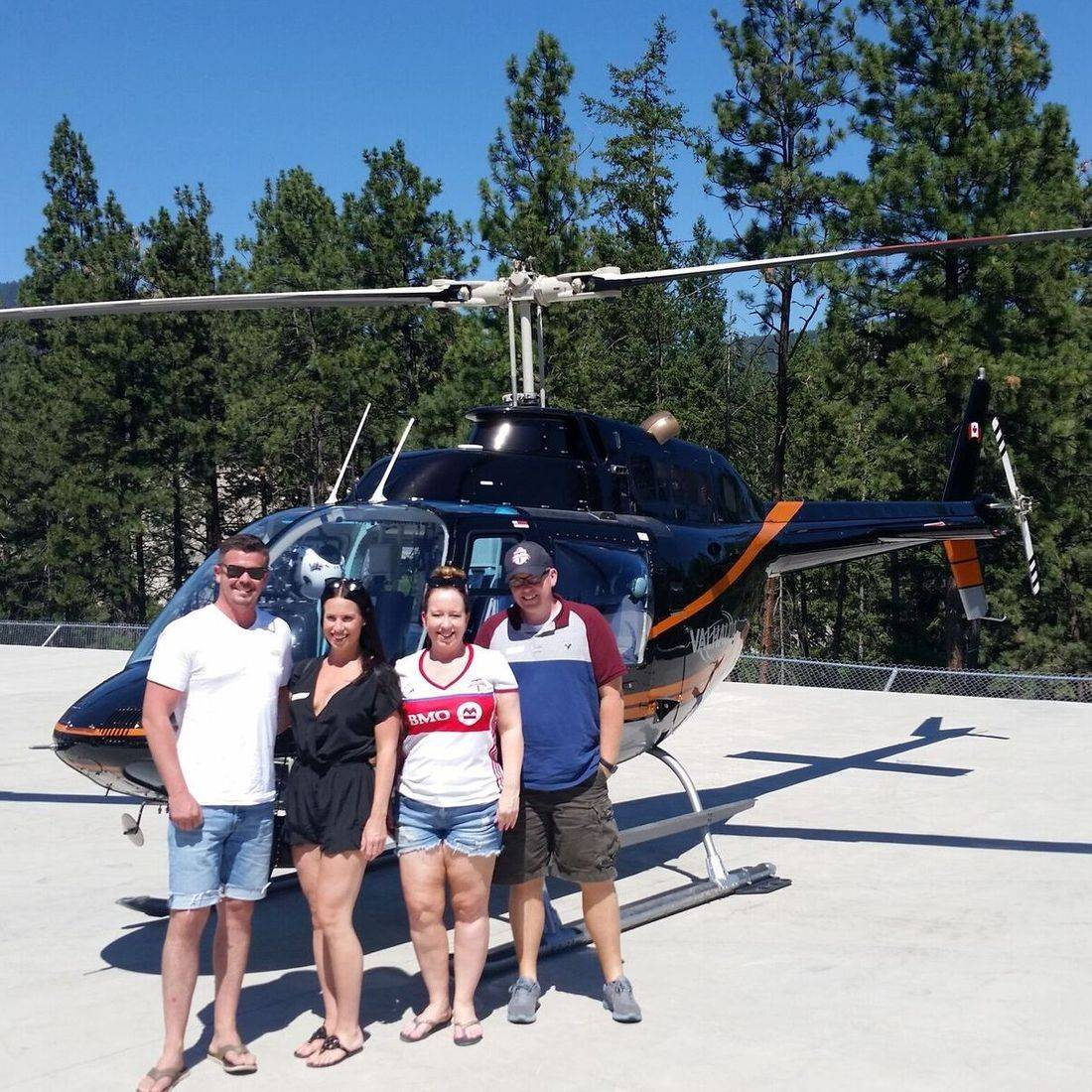 Helicopter Wine Tours Kelowna BC