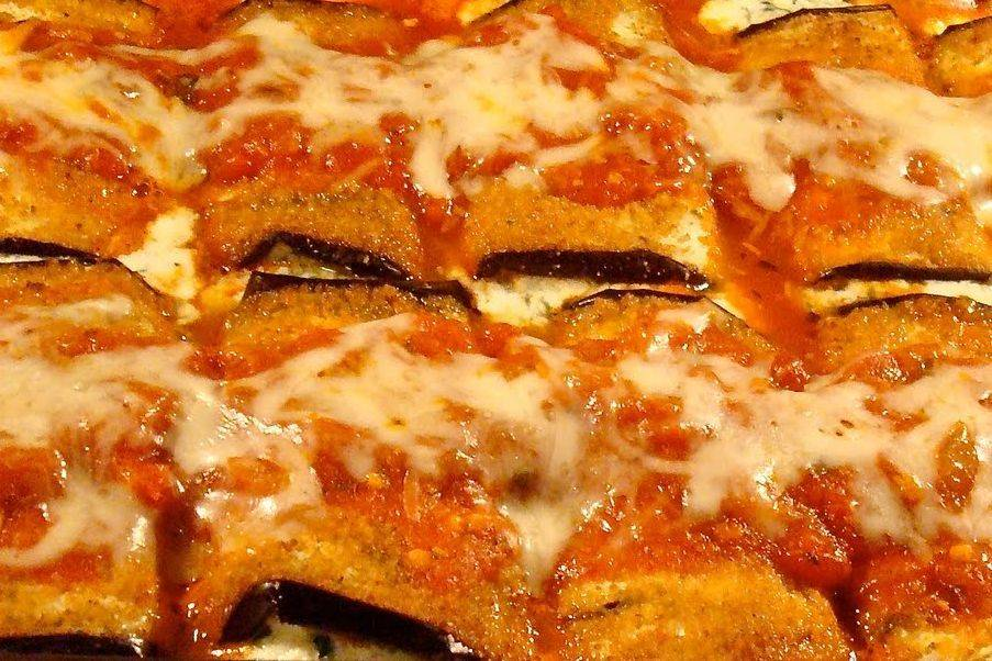 This is Arista's Eggplant Rollatini