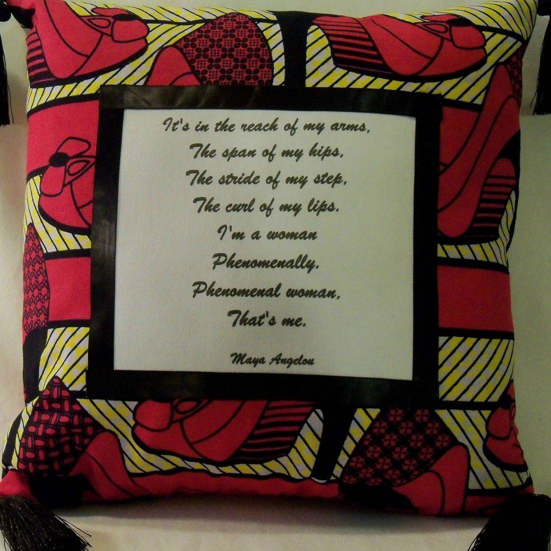 Phenomenal Woman Pillow