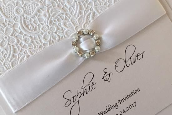 lace wedding invitations, wedding invitations, luxury wedding invitations