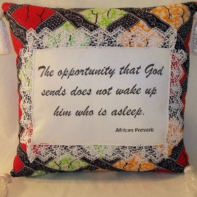 Opportunity from God Pillow
