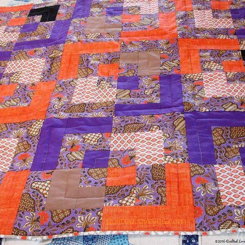custom made lap quilt