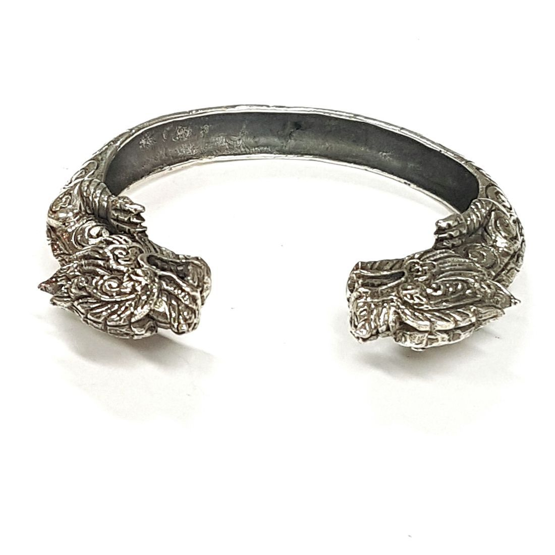 Solid silver Dragon Bangle  available at Kazbah online and our Leicester City Centre Shop