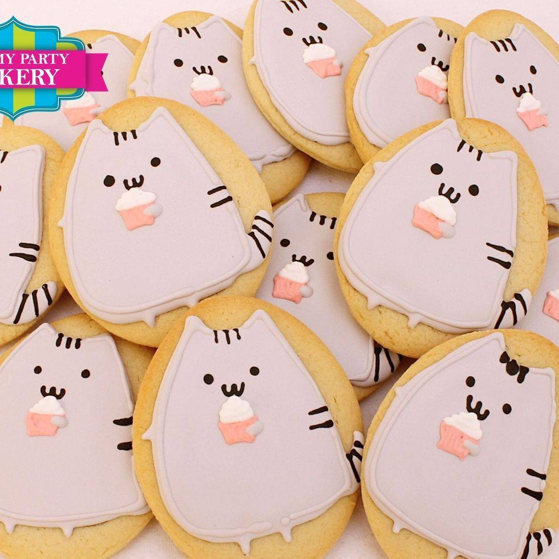 Pusheen cookies Milwaukee